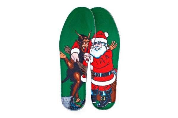 Devilish Santa Sneakers