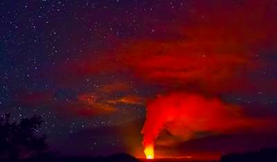 Overflowing Lava Photography