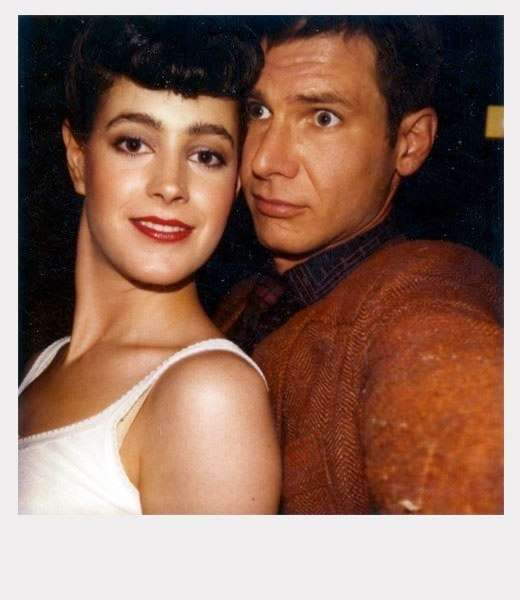 Sean Young Blade Runner Polaroids