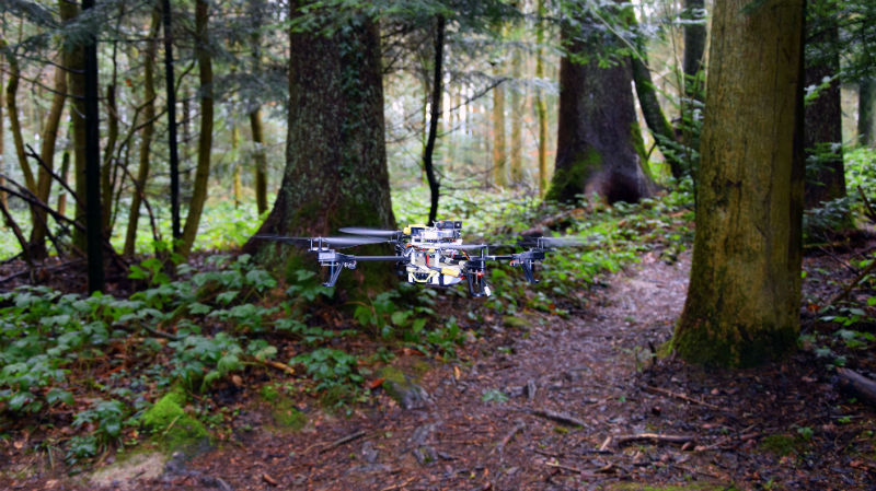 Lost Hiker-Tracking Drones