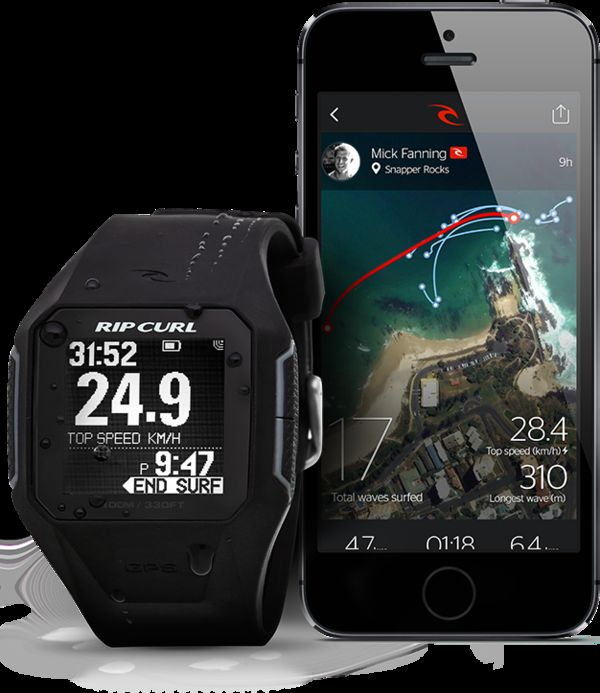 Wave-Tracking Watches