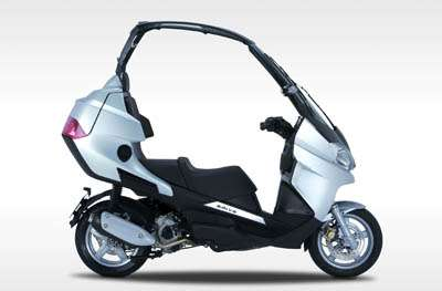 Convertible Top Scooter Advia 250