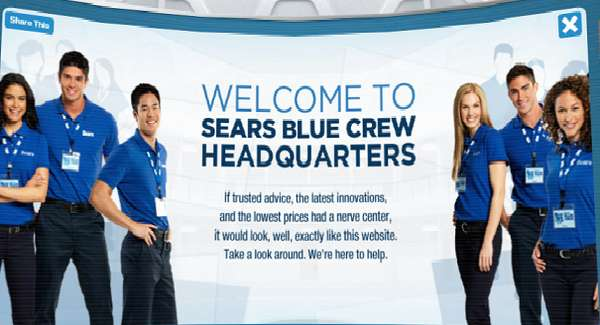 sears blue blogger crew