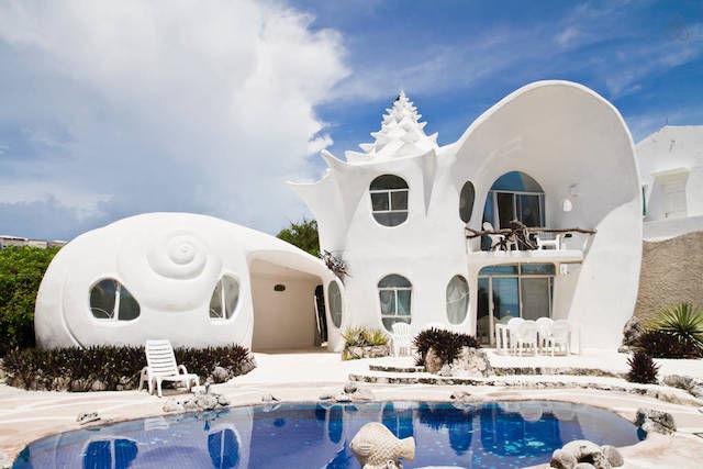 Whimsical Aquatic Architecture