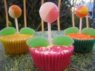 Sunny Spring Cupcakes
