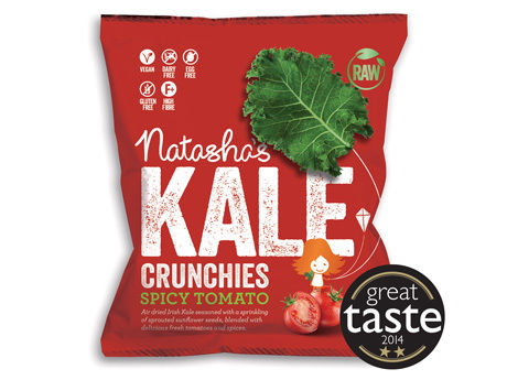 Tomato-Flavored Kale Chips