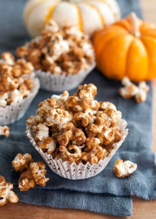 Pumpkin-Flavored Popcorn