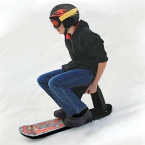 Snowboard-Sled Hybrids