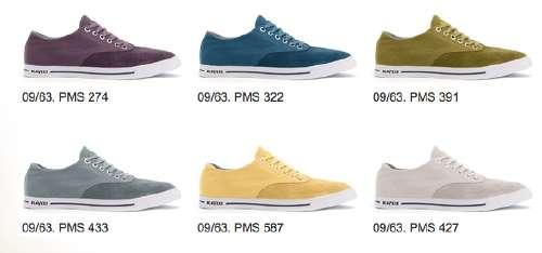 Pantone History Shoes