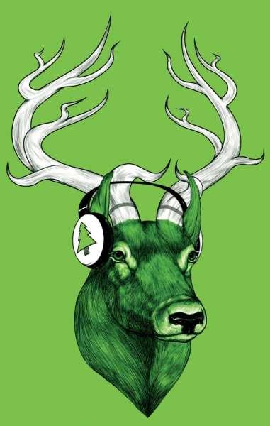 Animal Headphone Artworks
