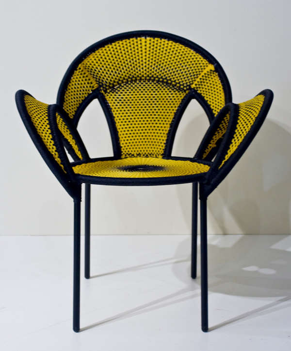 Vividly Woven Seating