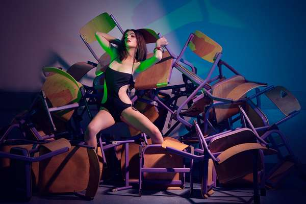 Piled Chair Photography
