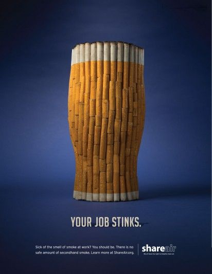 Cigarette Food Ads