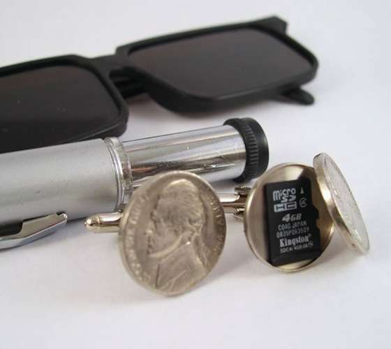 Secret Compartment Cufflinks