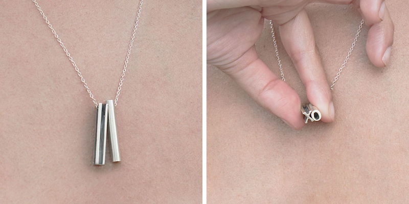 Abstract Sentimental Jewelry