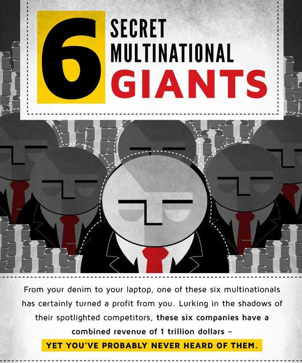 Secret Multinational Giants Infographic