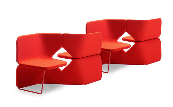 Vibrant Ponder Sectional Seating