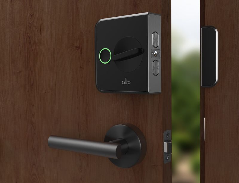 Smart security door locks lock