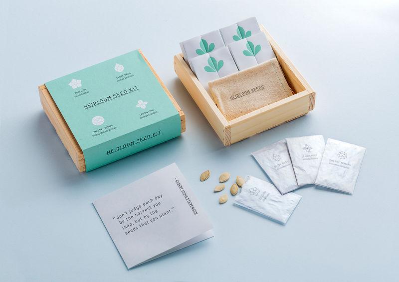 Stylish Seed Gardening Kits