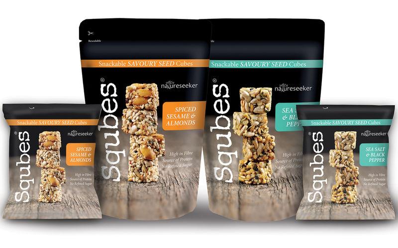Savory Seed Cube Snacks