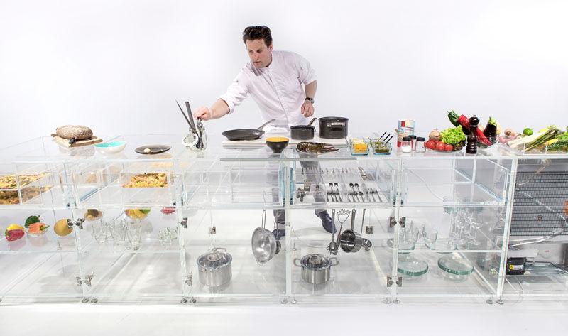 See-Through Kitchen Countertops