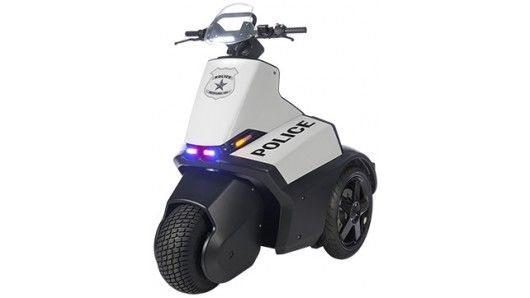 Three-Wheeler Police Segways