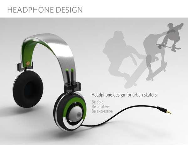 Skater-Centric Headphones