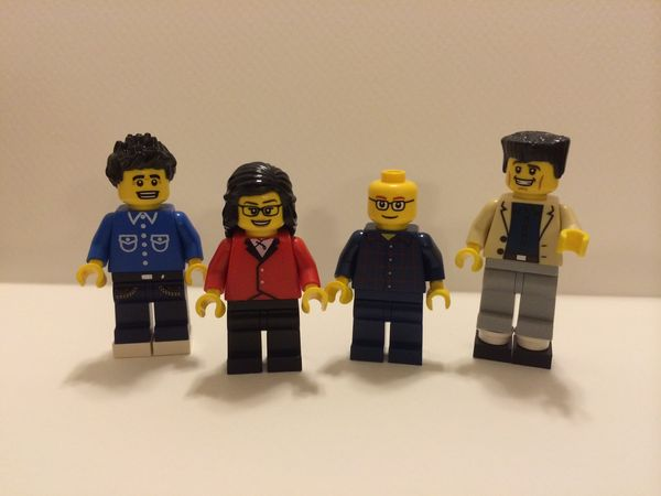 Seinfeld as Lego minifigs