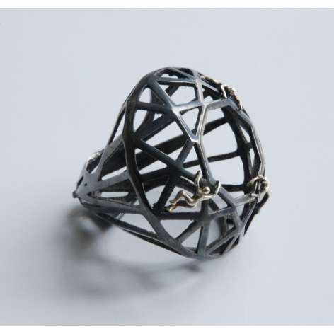 Geometric Diorama Rings