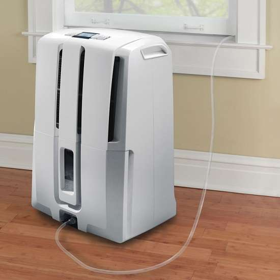 Maintenance-Free Dehumidifiers : Self Emptying Dehumidifier