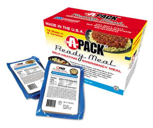 Self-Heating Meal Packs