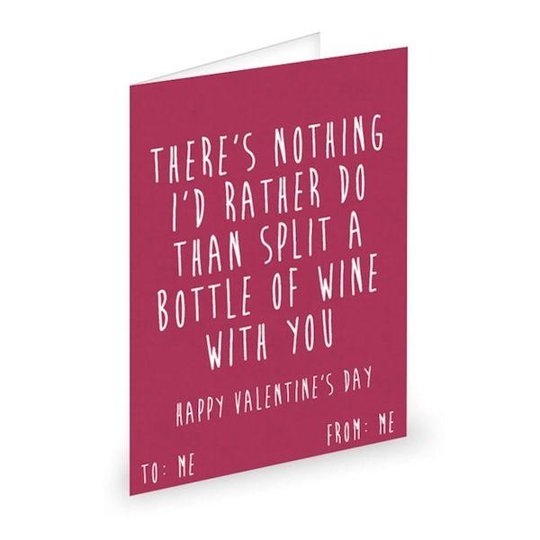 Sarcastic Self-Loving Cards