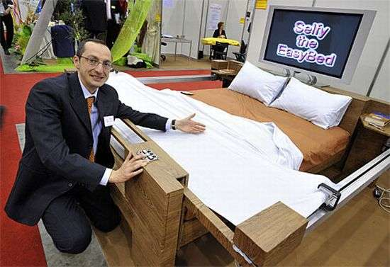 Self-Making Beds
