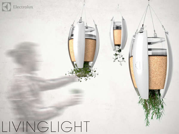 Living Self-Powered Lamps