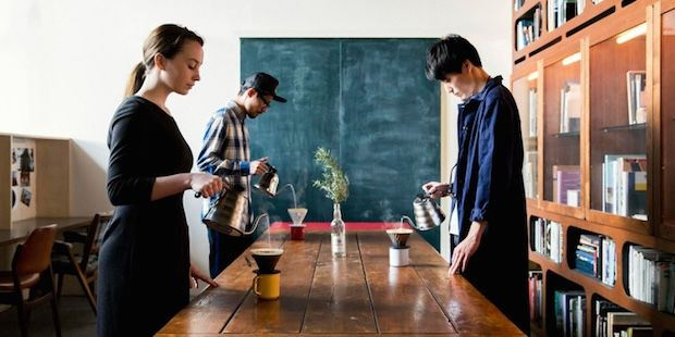 Slow-Drip Coffee Shops