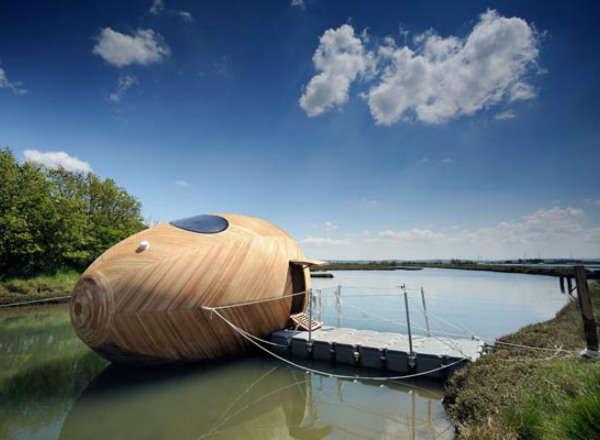 energy efficient egg boats   self sustaining