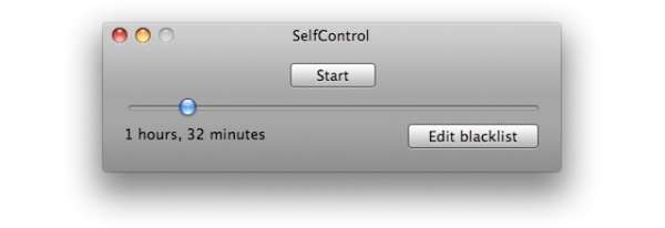 SelfControl from Steve Lambert