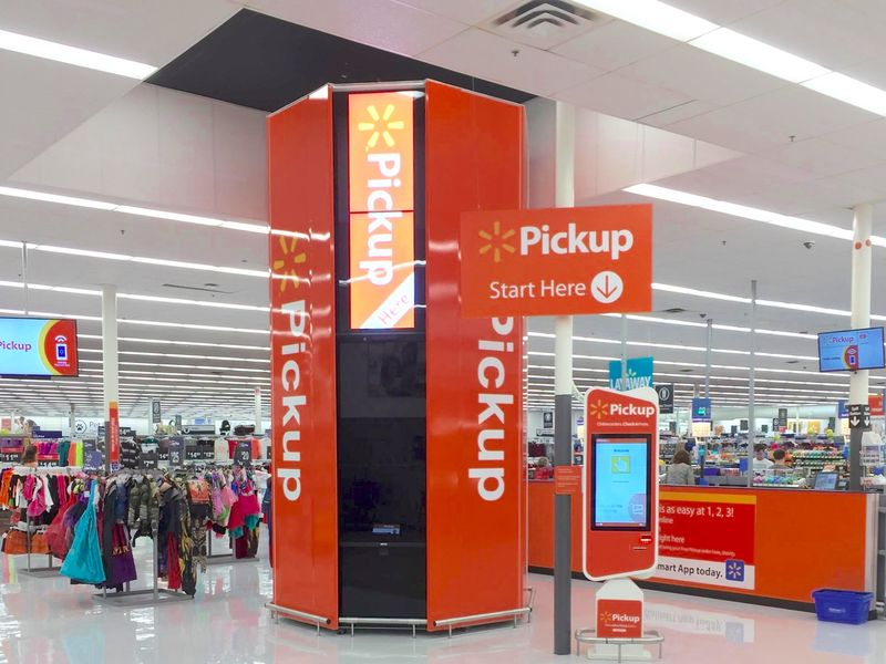In-Store Pickup Stations