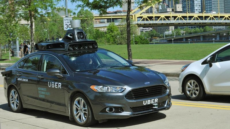 Self-Driving Rideshare Vehicles
