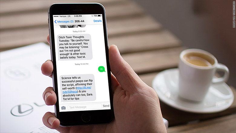 Self-Fulfillment Messaging Apps