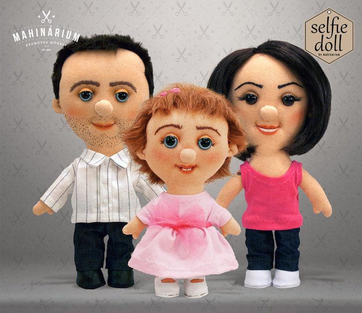 Custom Selfie Dolls
