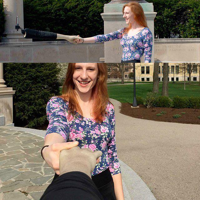 Hand-Shaking Selfie Sticks