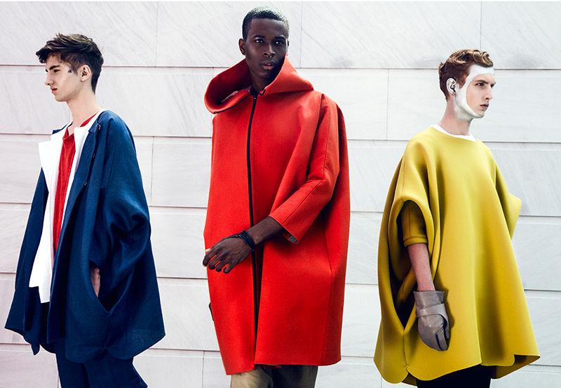 Vanguard Outerwear Editorials