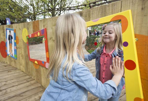 Multi sensory child gardens sensory garden workwithnaturefo