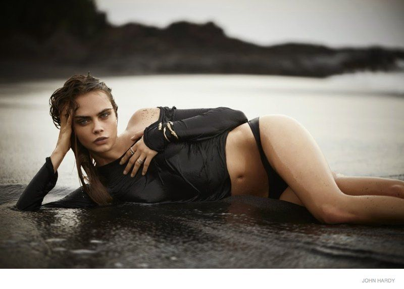 Sensual Beach Fashion Ads