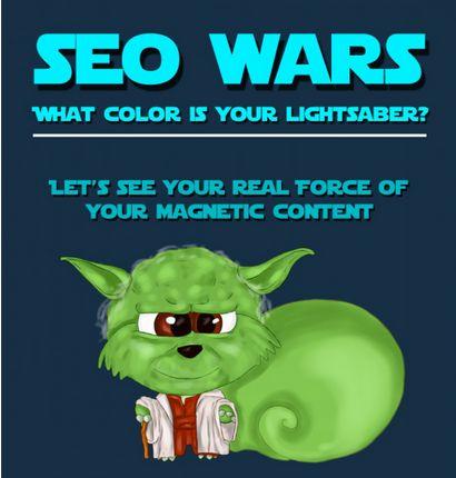 Sci-Fi SEO Infographics