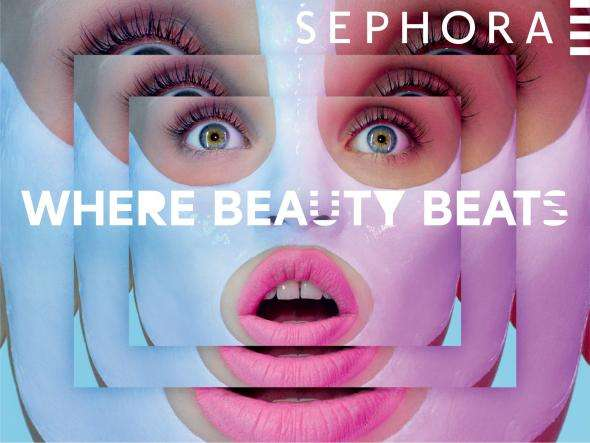 Kaleidoscopic Cosmetic Campaigns