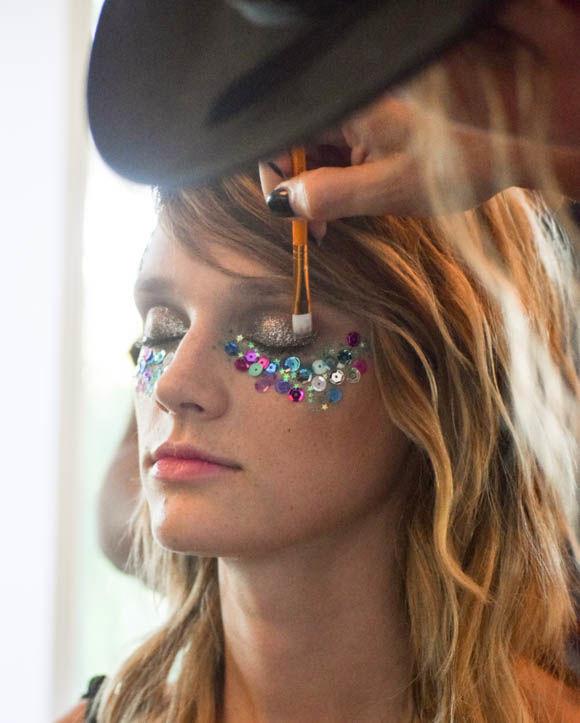 Sequin Makeup Tutorials
