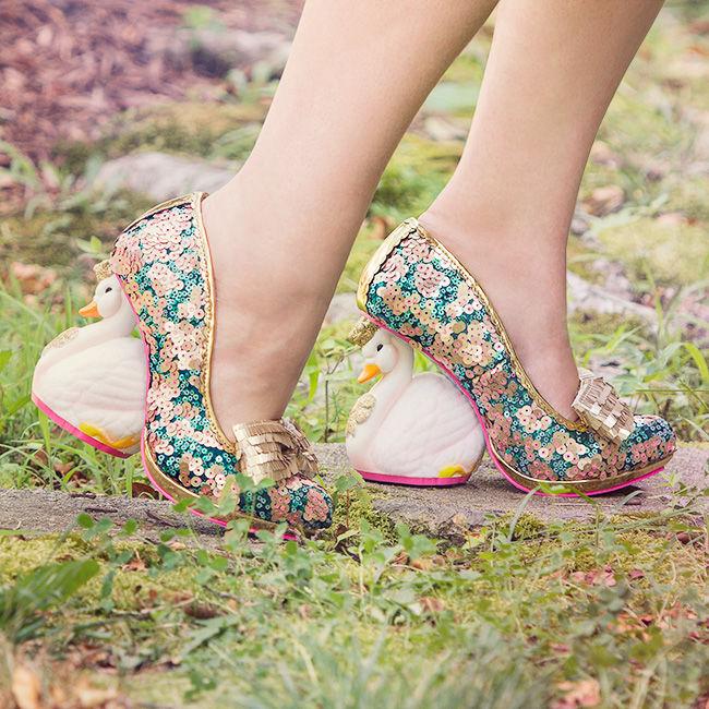 Gilded Swan Stilettos
