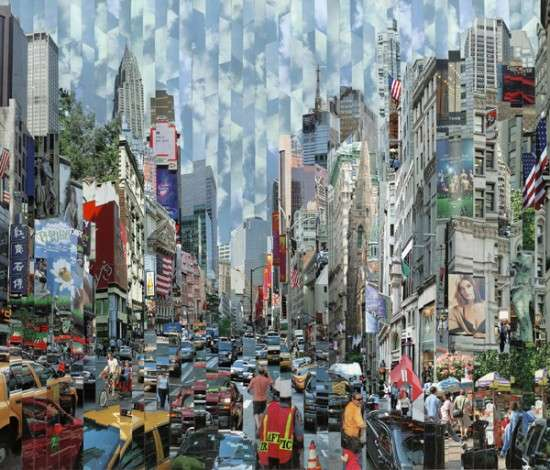 Stripped City Collages